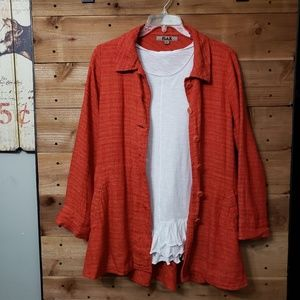 FLAX 100% Linen Jacket